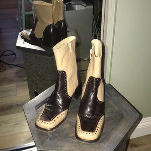 🔥Dolce & Gabbana, leather boots (worn 3x)